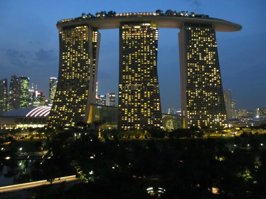 how to go to marina bay sands