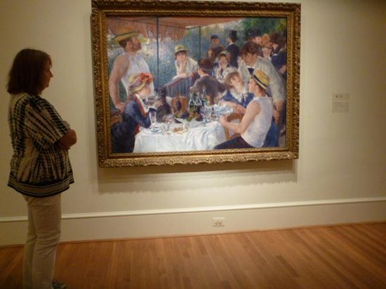 The Phillips Collection: Luncheon of the Boating Party