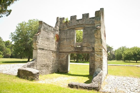 Fort Frederica National Monument: Barracks at Fort Frederica