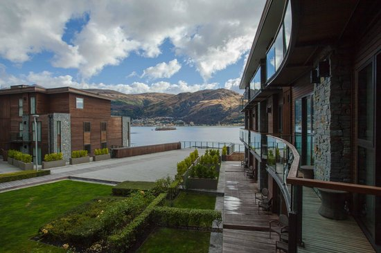 Hilton Queenstown Resort & Spa: Nice view and architecture