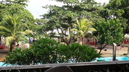 Grand Inna Kuta : Resturant breakfast view