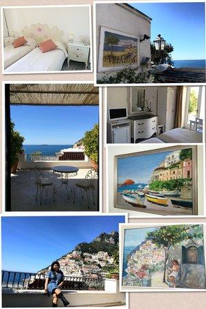 Villa Rosa : Our stay @ Positano