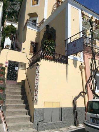 Villa Rosa : Entrance