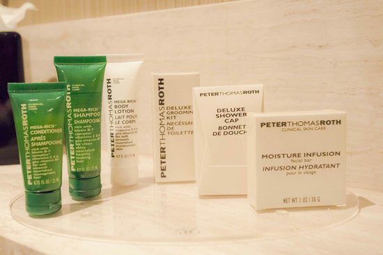 Hilton Queenstown Resort & Spa: Peter Thomas Roth Products