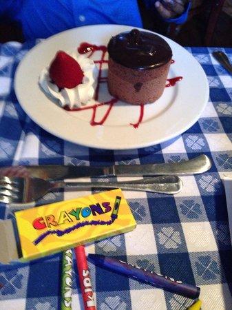 Middleton Tavern: My son dessert