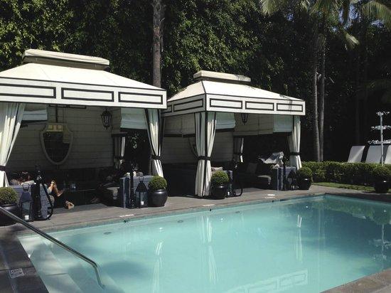Viceroy Santa Monica: Cabanas
