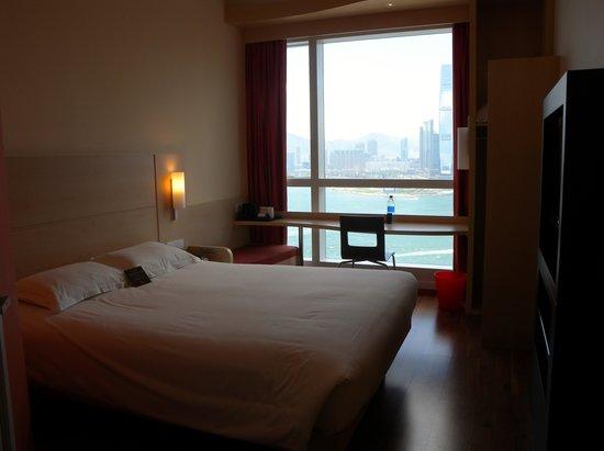 Ibis Hong Kong Central & Sheung Wan : 部屋1