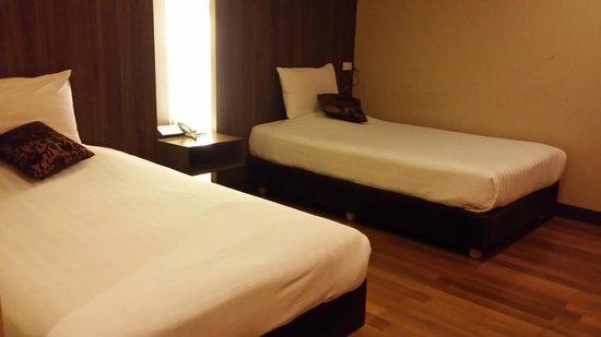 D Varee Diva Bally Silom, Bangkok: twin room