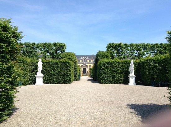 Berggarten: 庭園