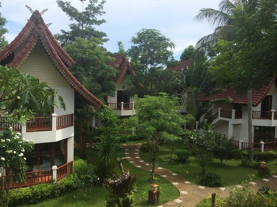 Thai Garden Hill Resort, Koh Chang : View from our room