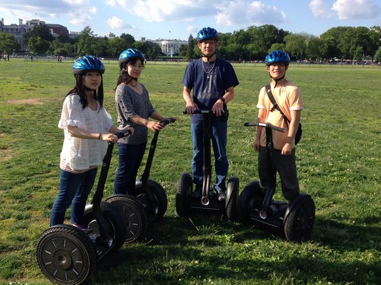 Private DC Segway Tours : Having fun!
