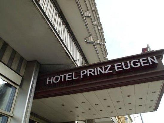 Hotel Prinz Eugen : 入口