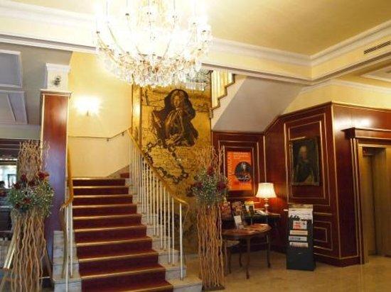 Hotel Prinz Eugen : ロビー