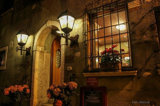 Hotel Grifone: Entrance