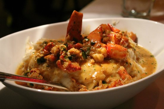 Mastro's Steakhouse - Costa Mesa: Lobster Mashed Potatoes