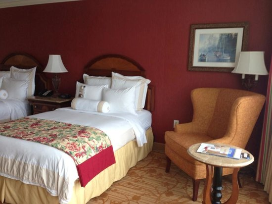 Victoria Marriott Inner Harbour: Very comfortable rooms