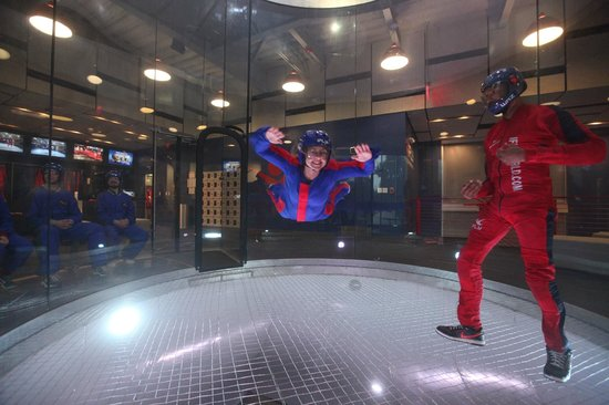 iFLY Austin Indoor Skydiving: Indigo Raven Takes Flight!!!!
