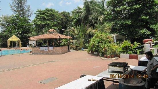 Khanvel Resort: POOL SIDE