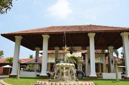 Cocoon Resort & Villas: entrance
