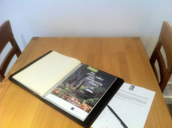 Golden Pebble Melbourne: Information in the room was really helpful for me