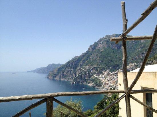 Rifugio degli Dei : Uitzicht vanaf het privé terras