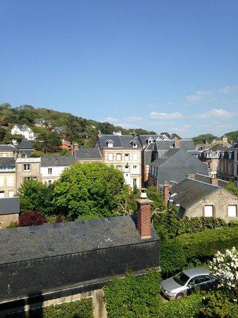 Hotel La Residence Manoir De La Salamandre : Вид из номера