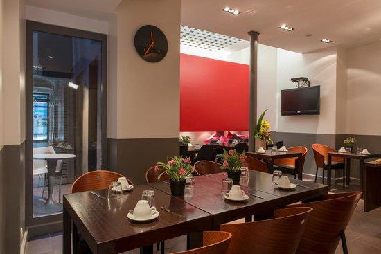Grand Hotel Leveque : Salle Petit Déjeuner