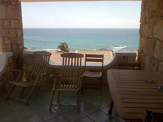 Marine Club Beach Resort: la vista dalla villa vista mare D5