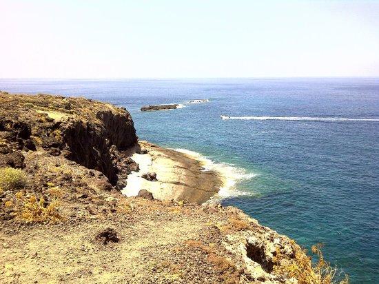 Parque Nacional La Caleta: Скалы и океан.