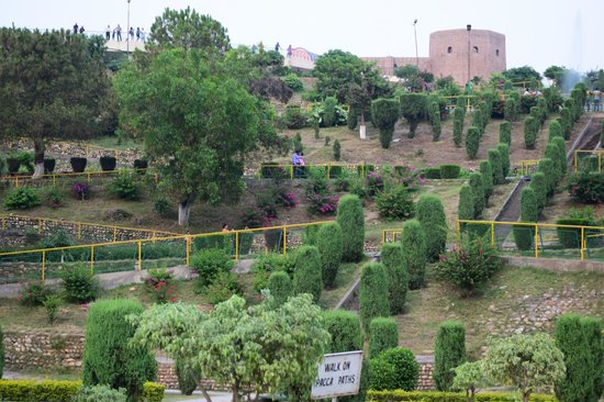 Jammu City, India: Siri Fort visible from Bagh-e-Bahu