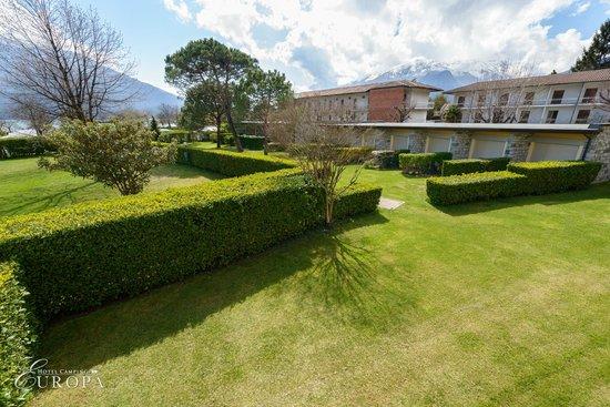 Hotel Camping Europa: Gardens