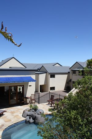 Baycrest Lodge: Pool Area