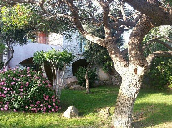Cruccuris Resort: Giardino nelle vicinanze delle camere