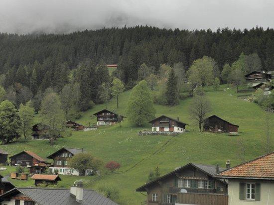 Belvedere Swiss Quality Hotel: ベランダからの景色