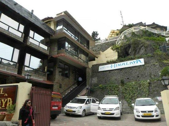 Hotel Himalaya front view