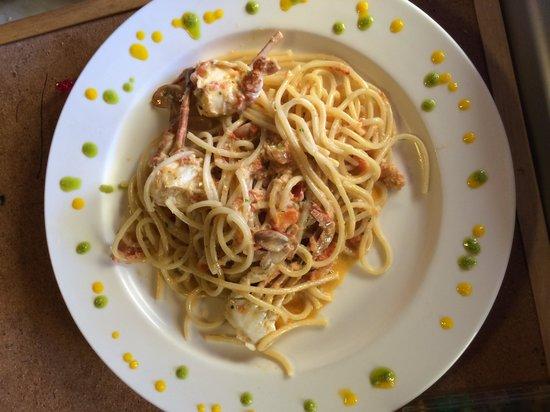 Bagno Malu: 25 Maggio - Spaghetti alla Granseola