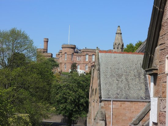 Glen Mhor Hotel & Apartments: View from my room