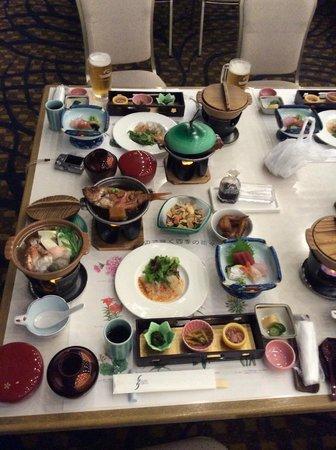 Hotel Izukyu: 夕食