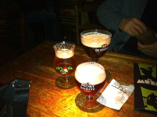 Jazzcafe de Muze : birra, birra, birra