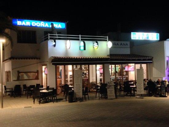 Sol Beach House Ibiza: Bar dona Ana by the ferry terminal fab food xx