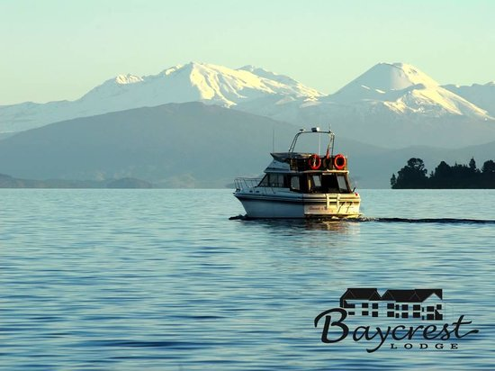 Baycrest Lodge: Boat trip anyone?