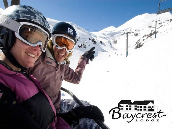 Baycrest Lodge: Skiing anyone?
