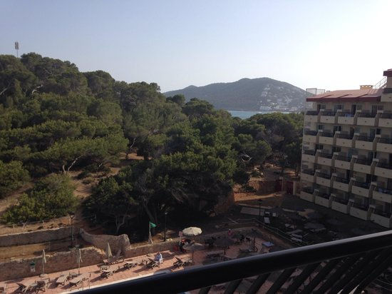 Sol Beach House Ibiza by Melia : The view carried on