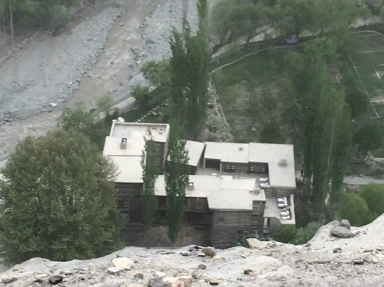 Serena Shigar Fort: View from the fort clif