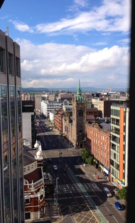 Europa Hotel - Belfast: Our room view