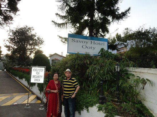 Taj Savoy Hotel, Ooty : At The Taj Savoy Ooty