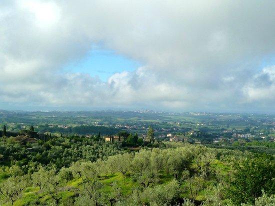 Agriturismo Borgo Casorelle: Af en toe een bui