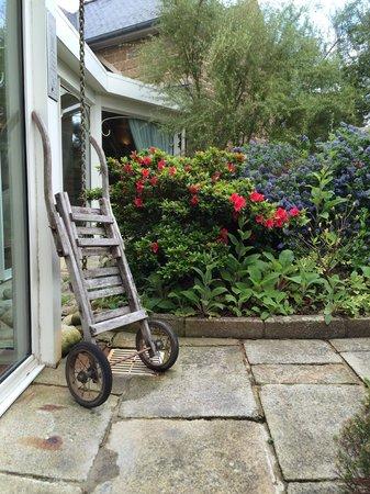 Manoir de Lan Kerellec : garden