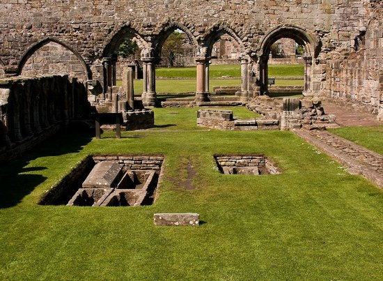 St Andrews Cathedral: 12th Century medieval St. Andrews Cathedral in Fife Scotland