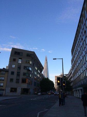 citizenM London Bankside: la strada dell'hotel